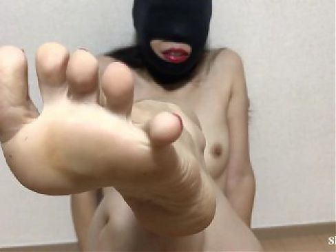 Japanese Latex Mask Nasty Girl's Feet and Sole Fetish show,enjoy with your Dick and Pussy.